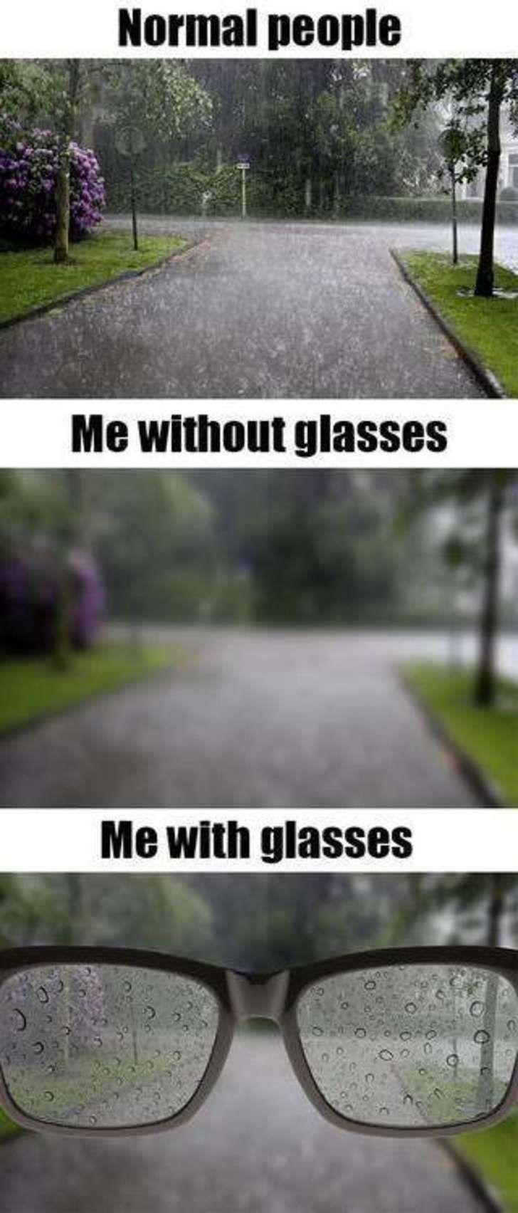 10 rắc rối hài hước chỉ những ai đeo kính cận mới hiểu
