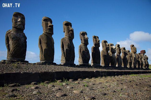 Đảo Phục Sinh, Chile.