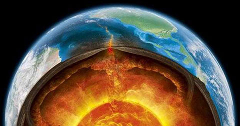 Cách mặt đất 644Km có một đại dương rất rộng lớn?