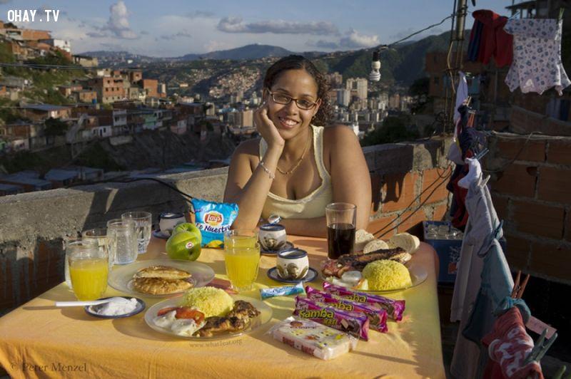 ảnh Peter Menzel,bữa ăn,ẩm thực