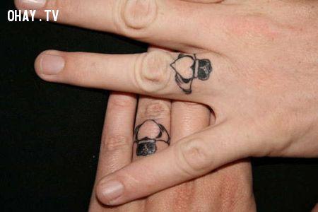 12 ý tưởng hình xăm đẹp từ nhẫn cưới