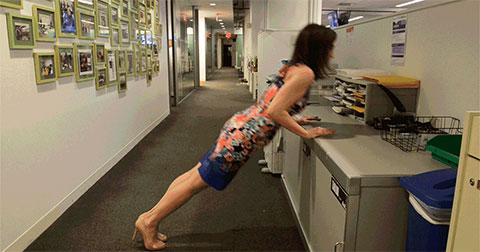 5 bài tập thể dục cực hiệu quả dành cho dân văn phòng