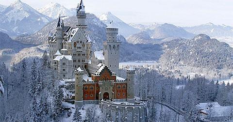 Top 5 lâu đài đẹp hơn truyện cổ tích khiến bạn không tin vào mắt mình