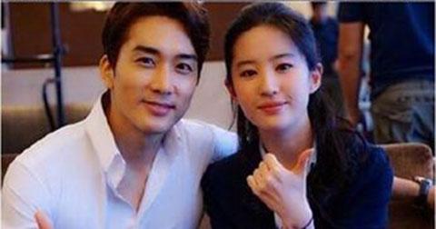 Song Seung Hun và Lưu Diệp Phi hẹn hò