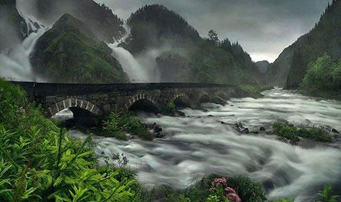 Thế giới cổ tích tuyệt đẹp ở vùng nông thôn Na Uy