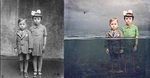12 bức ảnh đen trắng thời chiến tranh được phục chế khiến người xem không khỏi bị ám ảnh