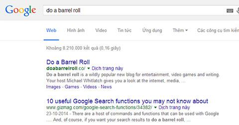 18 bí mật vui Google có thể làm cho bạn