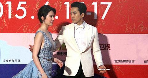 Song Seung Hun - Lưu Diệc Phi, phim giả tình thật?