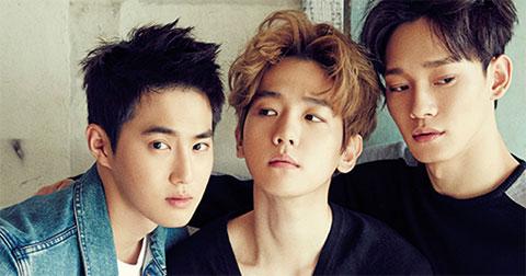 """Ba mảnh EXO - Suho, Chen, Baekhyun \"""" khoe sắc\"""" trên tạp chí @star1"""