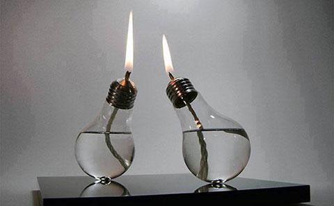 Sáng tạo cùng bóng đèn tái chế