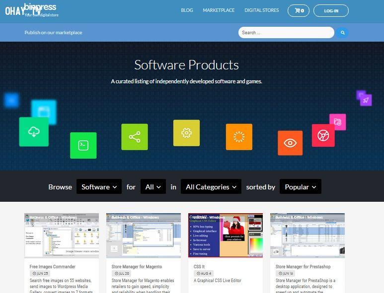 Bán ứng dụng trên Binpress.com