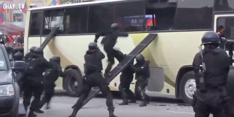 ảnh chống khủng bố,diễn tập chống khủng bố