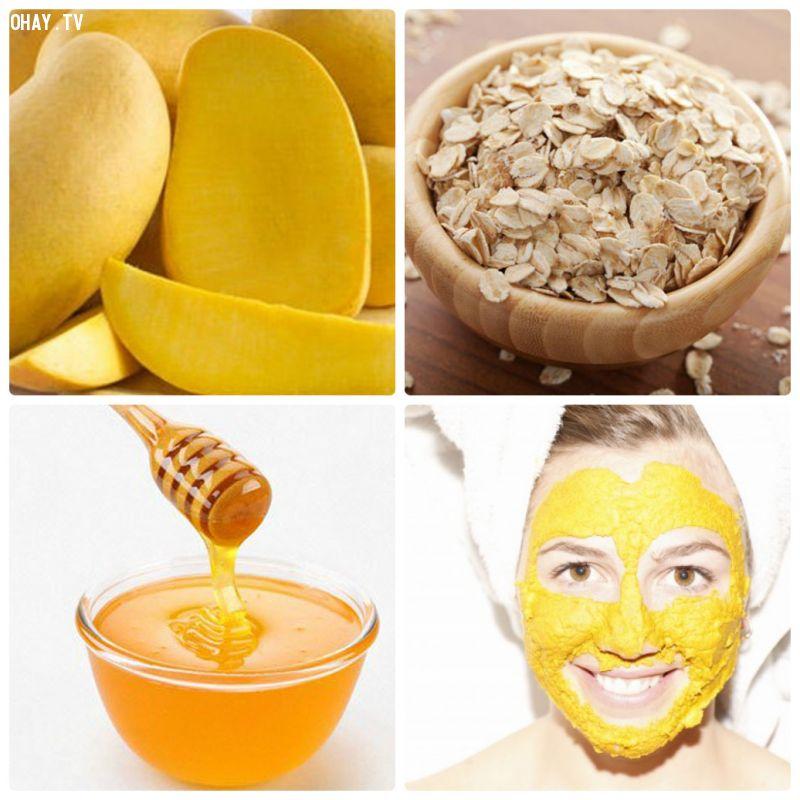 ảnh Tắng da,dầu dừa,tác dụng của xoài