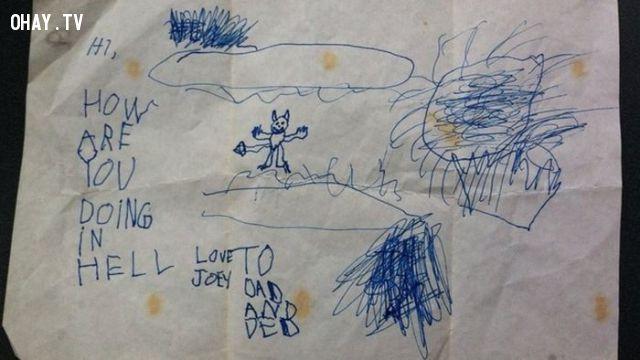 ảnh hình vẽ của trẻ con,hình vẽ kinh dị
