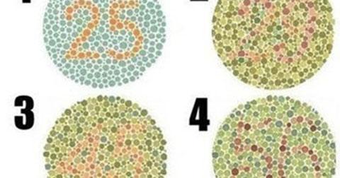 Nhìn hình đoán tính cách: Bạn không nhìn thấy được con số trong hình tròn nào?