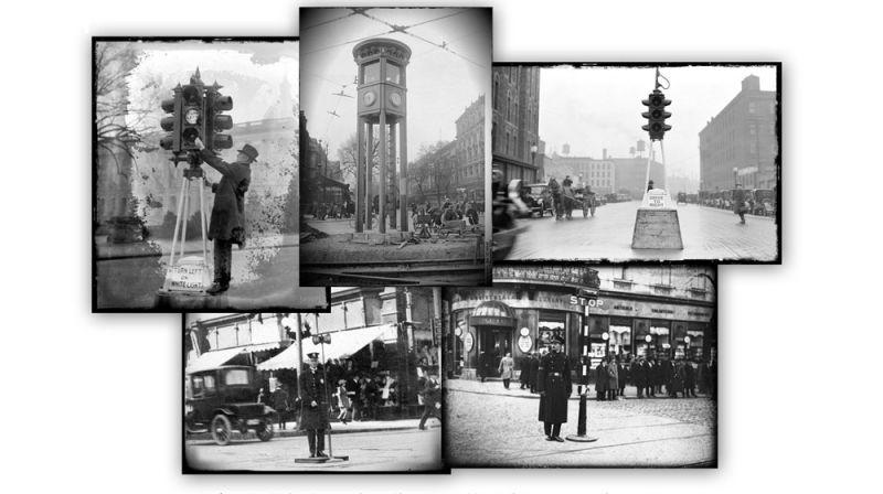 ảnh đèn giao thông,đèn tín hiệu giao thông,giao thông,lịch sử đèn giao thông