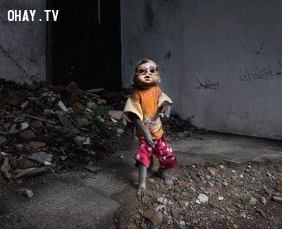 Khu ổ chuột Kampung Monyet, Jakarta (Indonesia)