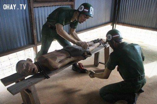 Tra tấn, dã man, tù nhân, quân đội mỹ, chiến tranh việt nam