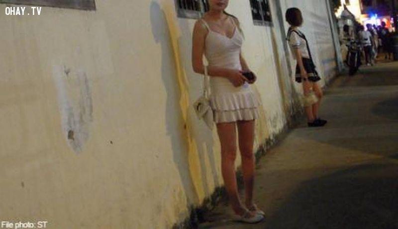 ảnh thiên đường sung sướng,mại dâm,geylang singapore,du lịch singapore