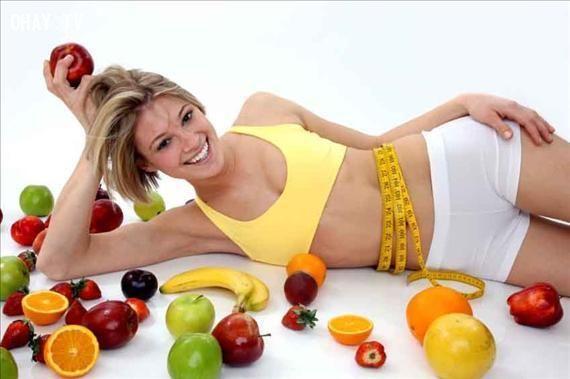 Chế độ ăn uống lành mạnh giúp bạn khỏe mạnh và có vóc dáng đẹp