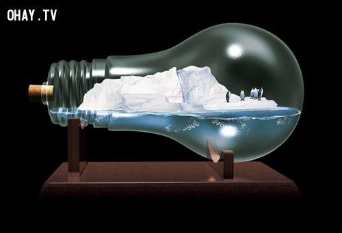 ảnh poster,sáng tạo,biến đổi khí hậu,suy ngẫm,quảng cáo sáng tạo,poster sáng tạo