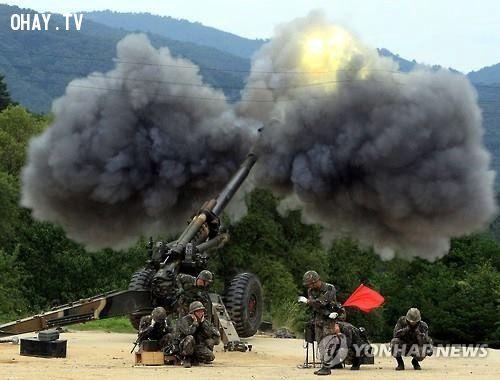 Quân Đội 2 bên nã pháo