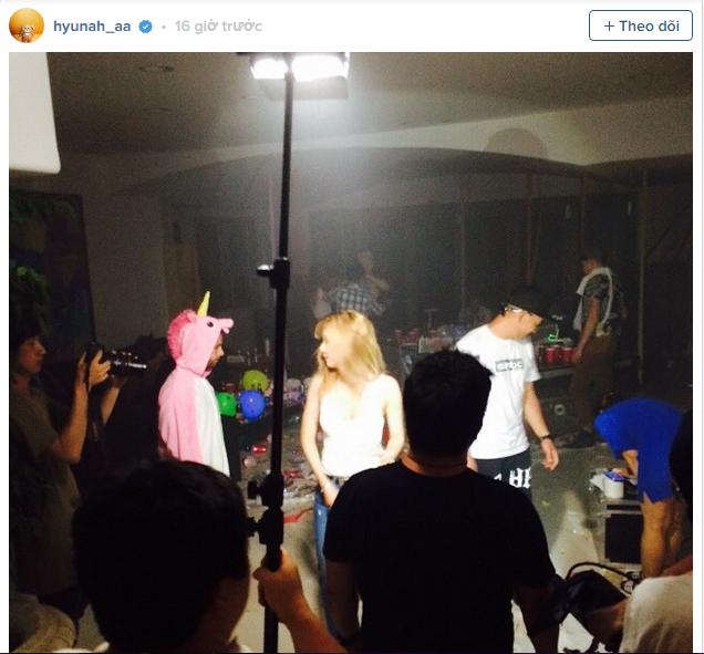 ảnh Hyun A,Instagram,album mini thứ 4