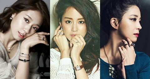 """Top 30  """"Gương mặt đẹp nhất"""" trong số các nghệ sĩ nữ nổi tiếng Hàn Quốc do Netizens Hàn bình chọn"""