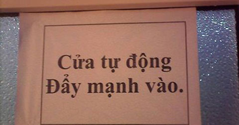 Chết cười với những hình ảnh chỉ có ở Việt Nam!