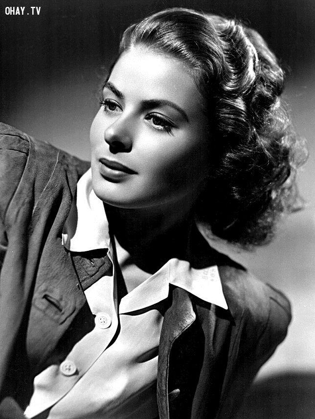 ảnh Ingrid Bergman,Hollywood,huyền thoại