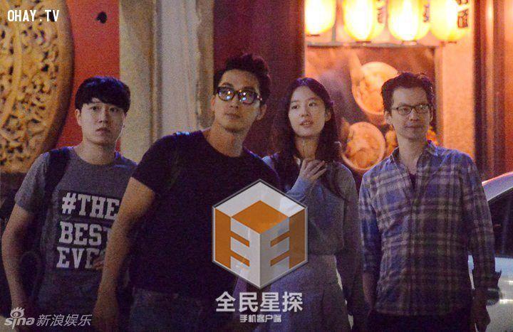 ảnh song Seung Hun,Lưu Diệc Phi,Thần Tiên tỷ tỷ,Phim giả tình thật,soái ca,tình yêu thứ ba,hẹn hò