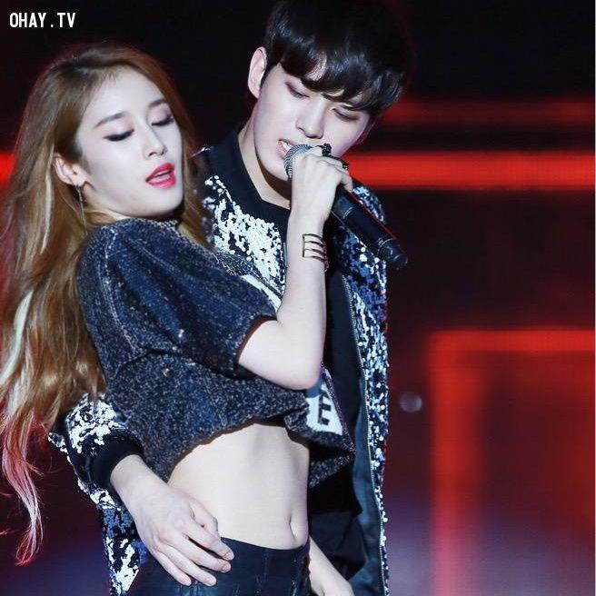 ảnh theshow,jiyeon,hongbin,zhoumi,myearscandy,baekjiyong,summerkpopfestival,vixx,tara,suju,kpop