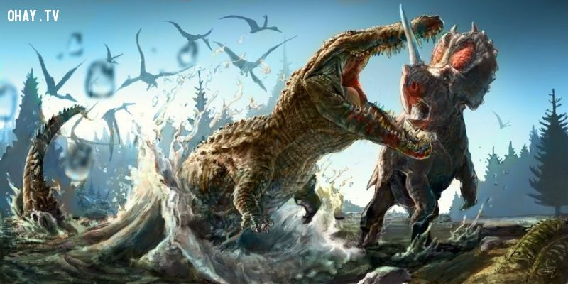 Cá sấu khổng lồ - đối thủ đáng gờm