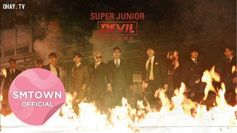Album devil kỉ niệm 10 năm ca hát của Suju