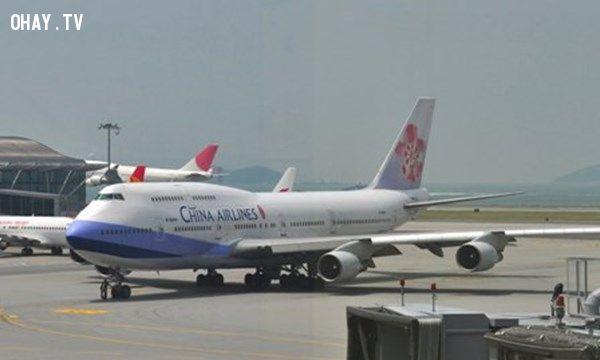 ảnh china airline,máy bay