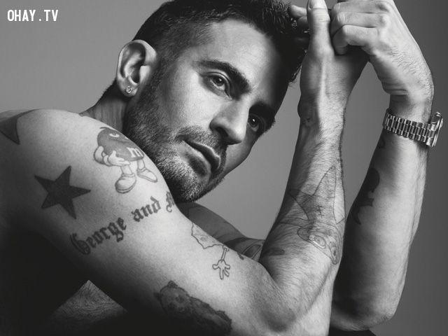 ảnh Marc Jacobs,nhà thiết kế,thời trang,đồng tính,xăm mình,thiết kế thời trang,có thể bạn chưa biết