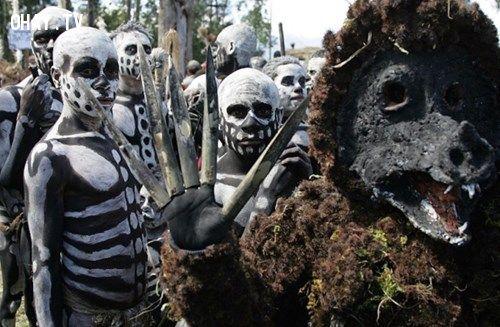 Một bộ tộc ở Papua New Guinea