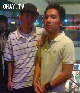 Rapper Nah và VietDragon từng có một thời gian rất thân thiết