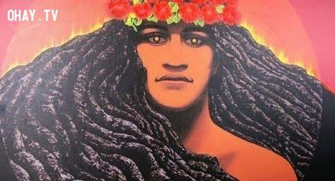 Biểu tượng nữ thần Hawaii Hele