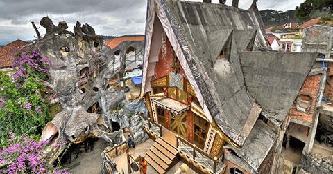 Những khách sạn độc và lạ duy nhất ở Việt Nam