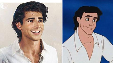Các chàng hoàng tử Disney ở đời sống thực
