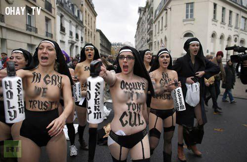 biểu tình đòi tự do tình dục
