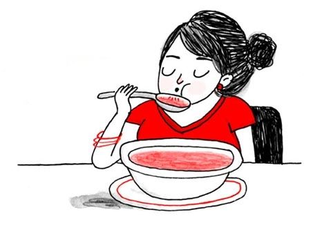 ảnh trên bàn ăn,châu âu,văn hóa châu âu