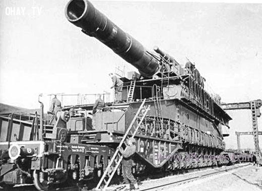 ảnh siêu đại pháo,lịch sử thế chiến,đức quốc xã,vũ khí