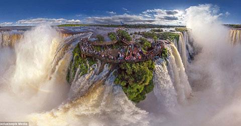 17 bức ảnh thế giới tuyệt đẹp nhìn từ trên cao