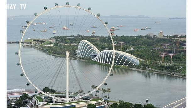 ảnh Singapore Flyer,bánh xe khổng lồ,du lịch singapore,singapore
