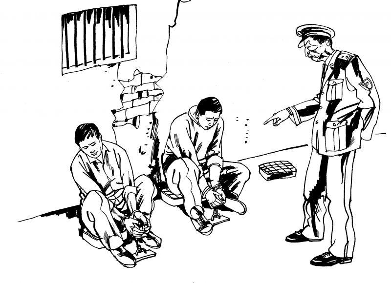 ảnh tra tấn,tra tấn trung quốc,nhà tù trung quốc,trung quốc