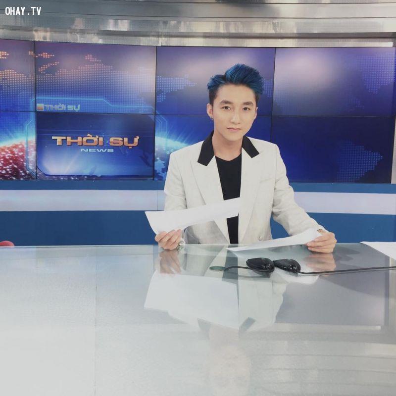 Sơn Tùng M-TP thử sức MC