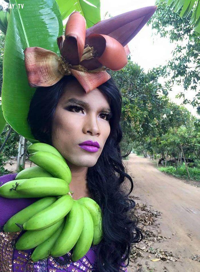 ảnh thời trang hài hước,thời trang hoa quả,thời trang