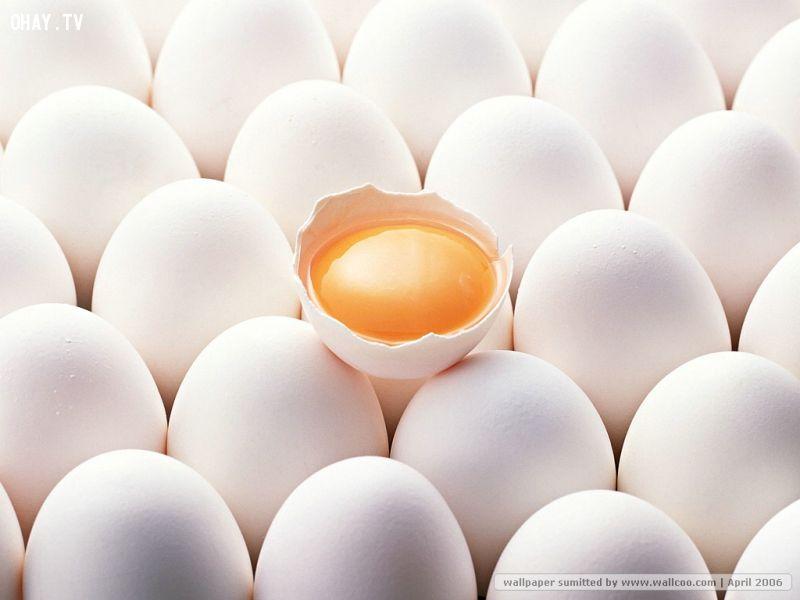 Trứng giúp tăng cường trí não cho bé